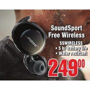 Bose Soudsport Free Wireless - $249.00