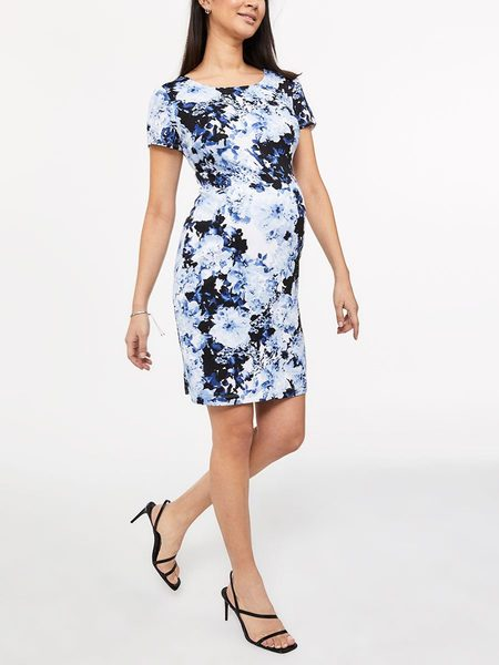 26bff53580d Thyme Maternity Stork   Babe - Printed Cap Sleeve Maternity Dress -  44.99  ( 15.00 Off) Stork   Babe - Printed Cap Sleeve Maternity Dress