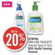 Up to 20% Off Cetaphil Skin Care Products