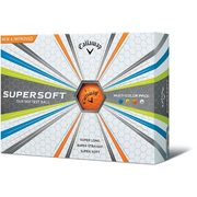 Callaway 2017 Supersoft Multi-coloured Golf Balls - $24.87 ($3.12 Off)