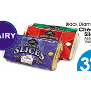 Black Diamond Cheese Slices - $3.99