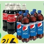 Pepsi, Aquafina or Coke Products - 2/$6.00