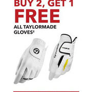 All Taylormade Gloves - Buy 2, Get 1 Free