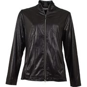 Greg Norman Women's Distressed Faux Leather Jacket - $81.87 ($83.13 Off)