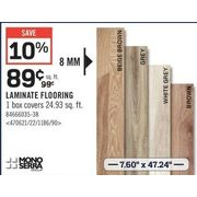 Mono Serra Laminate Flooring - $0.89/sq.ft (10% off)