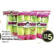 Andy Boy Romaine Hearts - 2/$5.00
