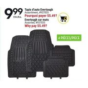 Evertough Car Mats  - $9.99