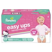 Pampers Giant Easy Ups Training Pants - $32.97 ($5.00 off)