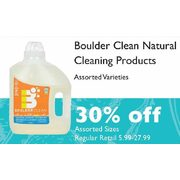 Boulder Clean Natural Cleaning Products - 30% off