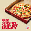 Boston Pizza: 15% Off Takeout or Get Free Delivery