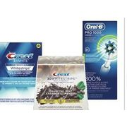 Crest Whitening Products or Oral-B Power Toothbrushes or Replacement Heads - 15% off