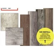 All Vinyl Flooring - 20% off