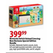 Nintendo Switch Animal Crossing: New Horizons Special Edition Bundle - $399.99